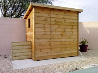 Construction int rieur ext rieur en bois for Construction piscine bois