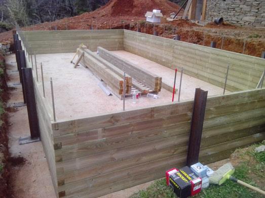 Montage des bois