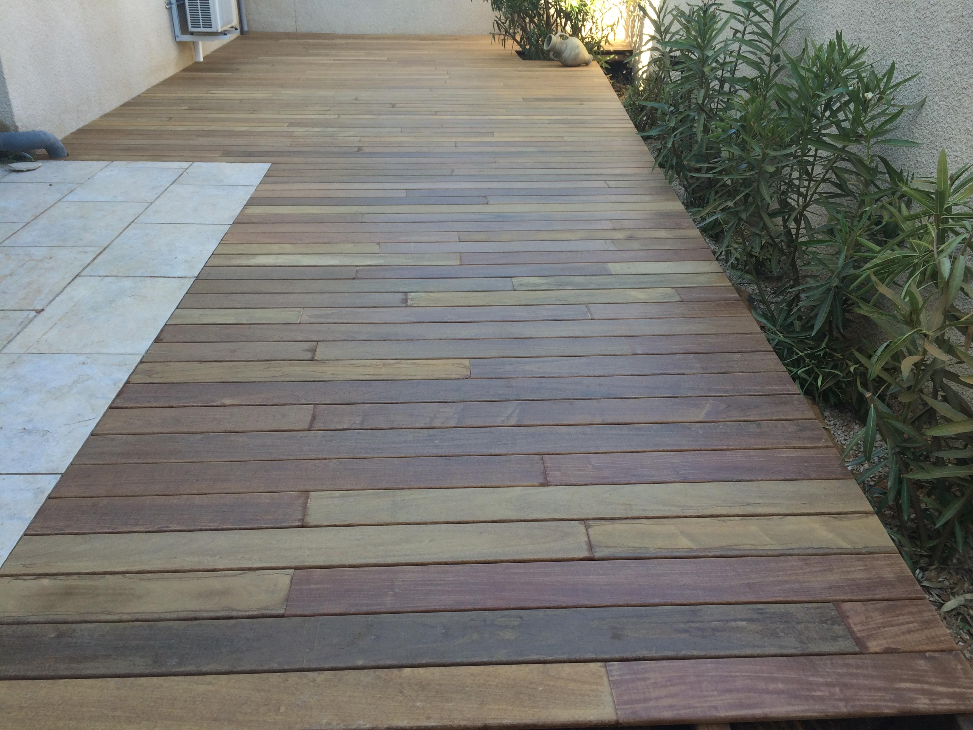 terrasse bois IPE Alès